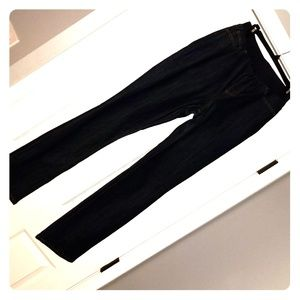 Boston Proper high waisted pull on jeans